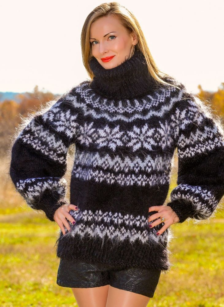 Arm Knitting Pullover : Best hand knitted mohair sweaters and other fluffy