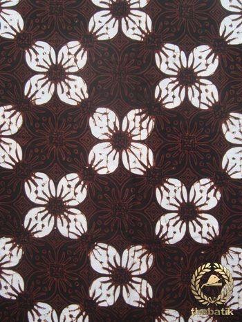 Kain #Batik Cap Jogja - Kawung Prabu