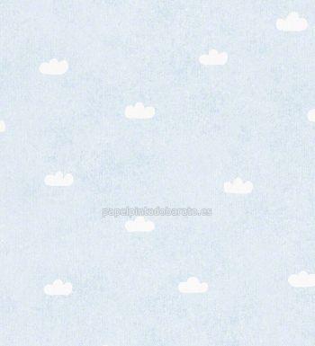 Papel pintado nubes blancas fondo celeste 94136-2 - http://papelpintadobarato.es/ninos/1140708-papel-pintado-nubes-blancas-fondo-celeste-94136-2.html