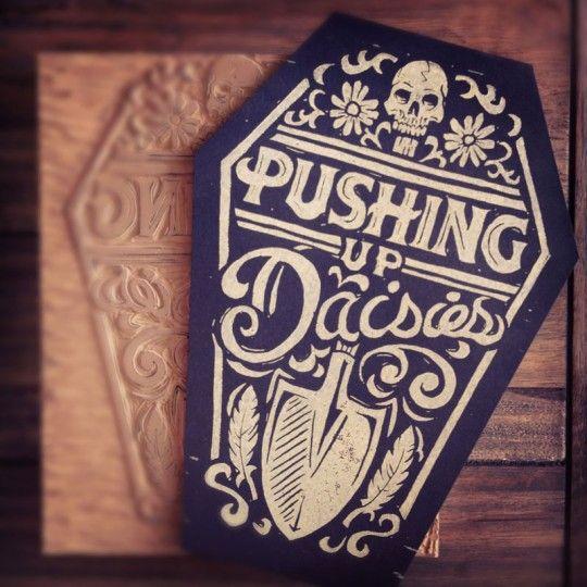 Tutorial: Block Print Design with Derrick Castle - Nashville, TN based graphic designer, WMC Fest 4 Artist and Ink Wars participant.