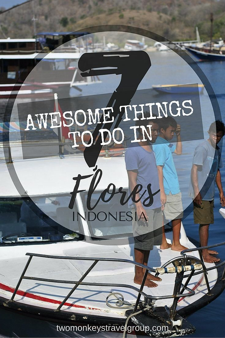 7 Awesome Things to Do in Flores, Indonesia provides you with a list of the must-see places and great adventures in the land of the Komodo Dragons!