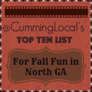Cumming Local's Top Ten List for Fall Fun in North GA - Cumming Local | Things To Do in Cumming, GA & Forsyth County