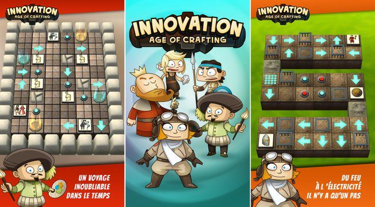 Innovation - Age of crafting propose de revivre l'histoire de l'humanité au sein d'un puzzle game - http://www.frandroid.com/android/applications/jeux-android-applications/293341_innovation-age-of-crafting-propose-de-revivre-lhistoire-de-lhumanite-sein-dun-puzzle-game  #ApplicationsAndroid, #Jeux