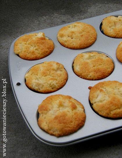 Wykwintne muffinki z jabłkami