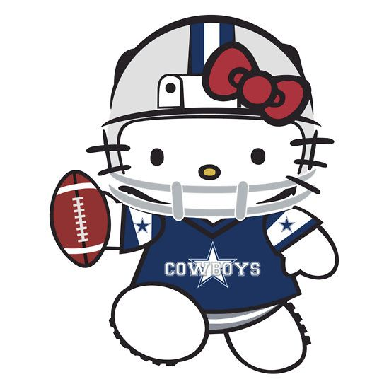 Hello Kitty Dallas Cowboys Love My Cowboys Pinterest