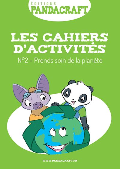 Un cahier d'acivités écolo et gratuit pour les enfants