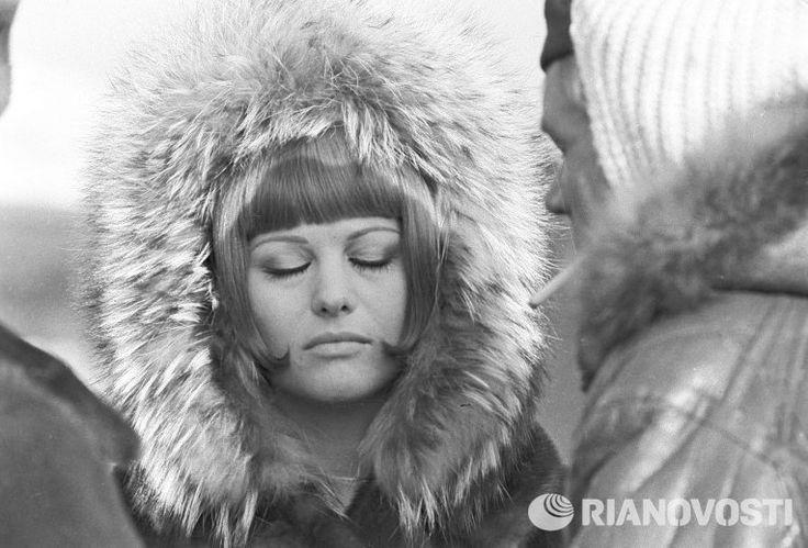Claudia cardinale in the film by mikhail kalatozov ussr