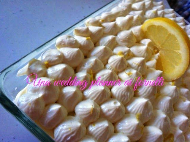 Tiramisù con limoni di Sorrento per una bellissima ricetta estiva