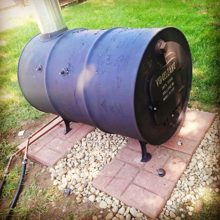 Build Your Own Wood Burning Stove for Under $60 ~ Simple Suburban Living