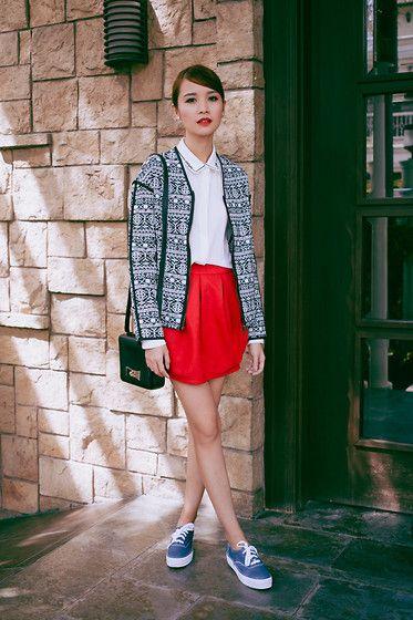 Tricia Gosingtian - Okdgg Top, Okdgg Jacket, Kate Spade Bag, Keds Sneakers, Persun Skirt - 021515