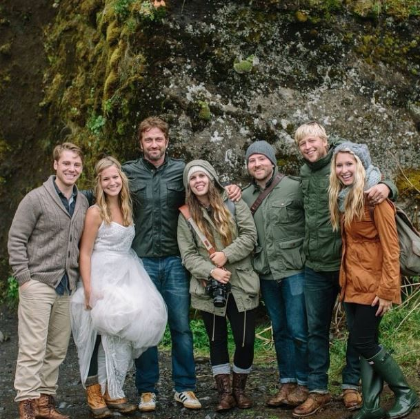 The bride wore #LLBean #BeanBoots #Iceland.  Congratulations to the happy couple.