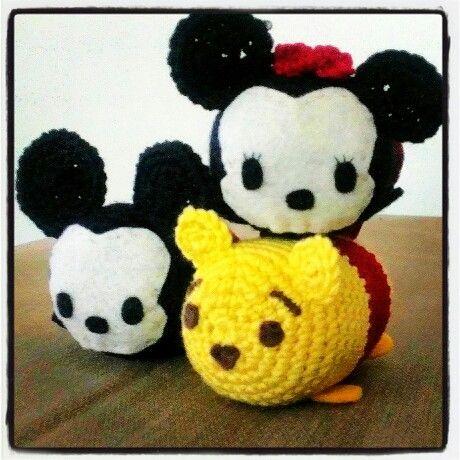 Disney tsum tsum amigurumi IG@chuchutrain00 crochet