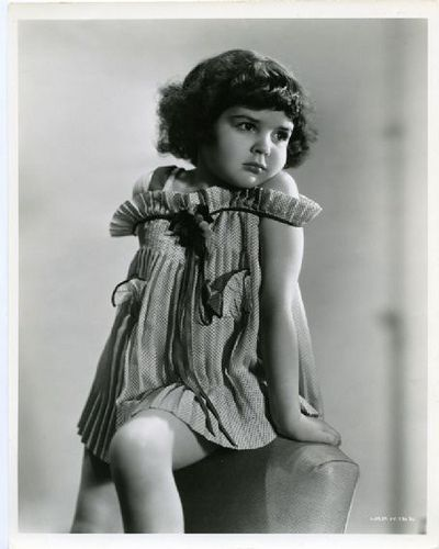 Darla Hood, one of the Little Rascals. She appeared in the series from 1935-1941.
