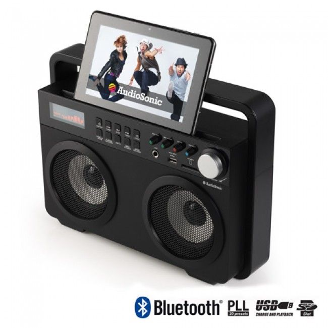 Radio Retro MP3 Bluetooth AudioSonic RD1557 - Tecnológicos | Ziclotech.com