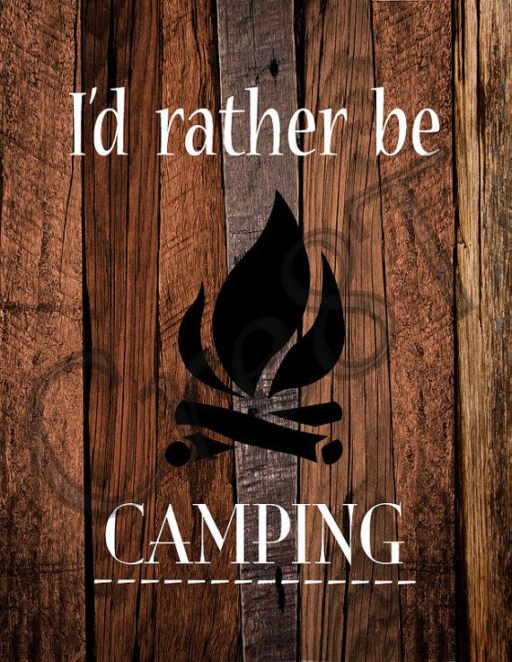 """Camping Quote Print by Cre8T on Etsy, $3.00 Hey guys! Check out my Etsy Store, """"Cre8T"""", for more Prints & Photography.  -Tia"""