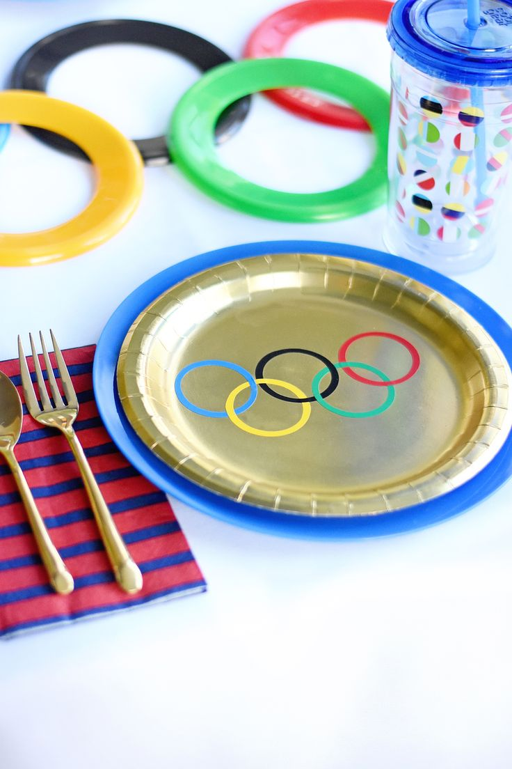 Olympics-Themed Kids Party