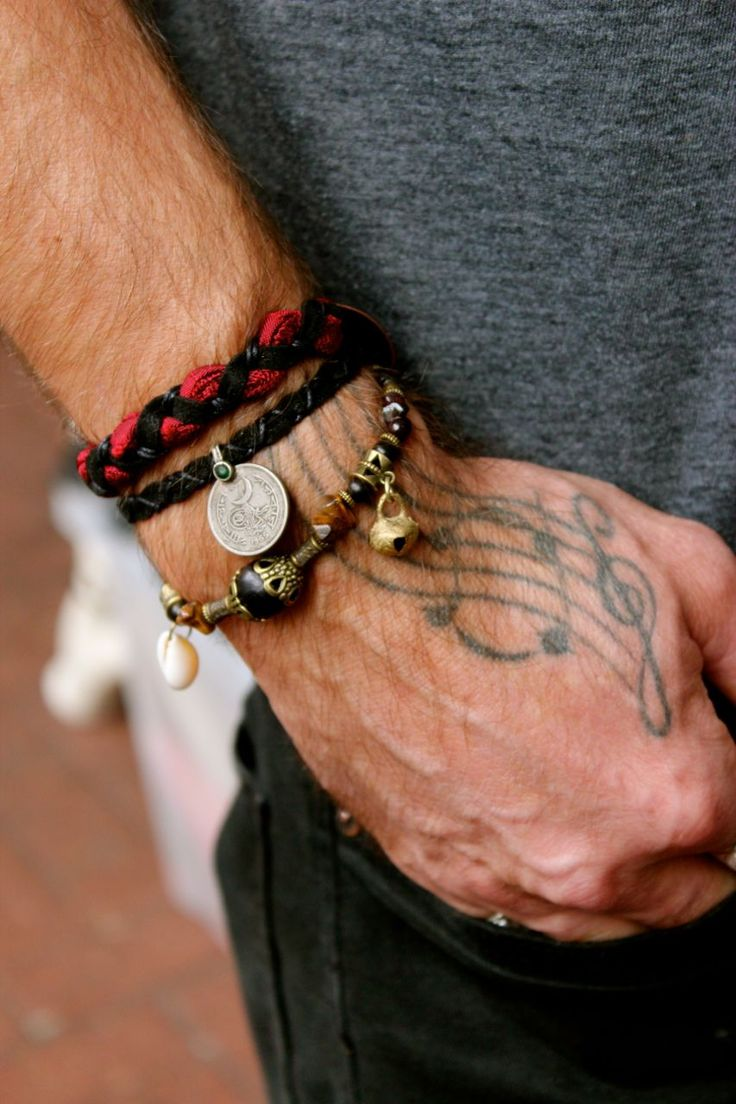 BLACK SEA MEN'S CUFF | Fashion Icon Johnny Depp