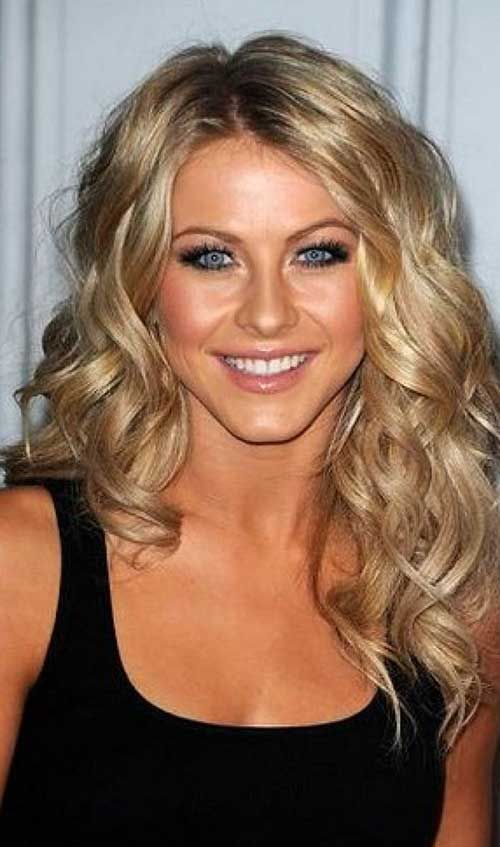 35 Medium Length Curly Hair Styles Peinados Pinterest