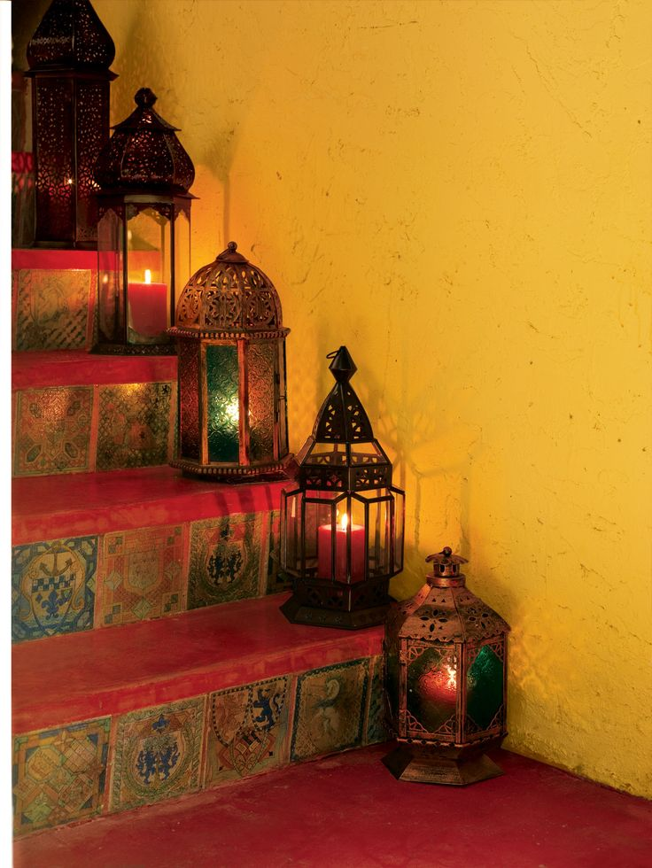 Do these worldly lanterns remind you of your decorating styles?     Find out what type of home decor style you have by taking our Stylescope quiz. Click here!  (I'm boho.  Go figure :)