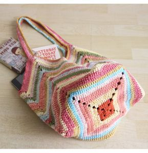Crochet Bag Crochet Beach Bag