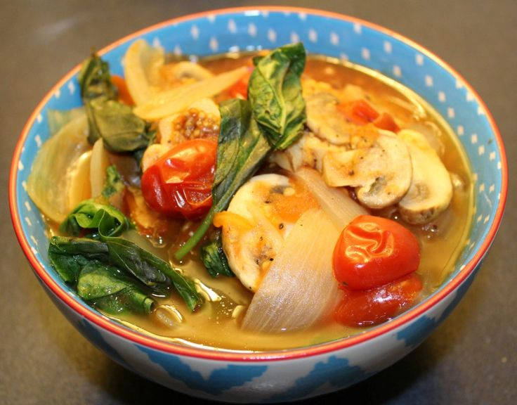 Onion, Mushroom and Tomato Ragout