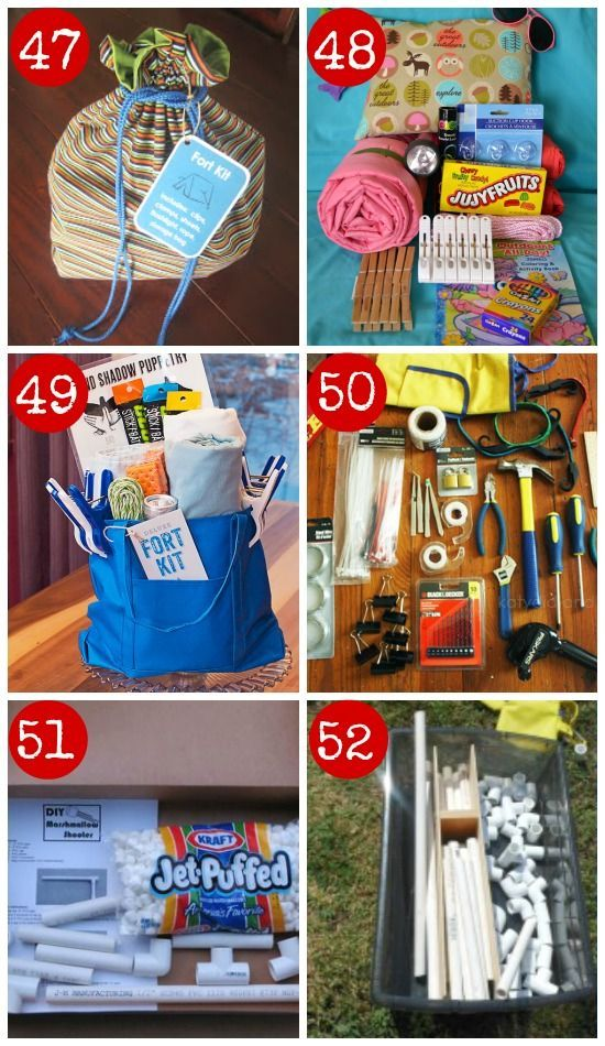 How awesome is this?!!? 6 Building DIY kits gifts for kids www.homeology.co.za