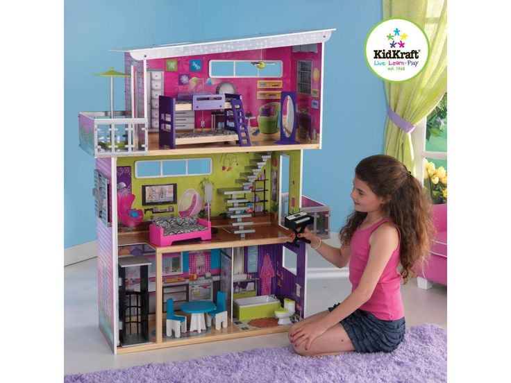 the 25 best ideas about maison de poupee kidkraft on. Black Bedroom Furniture Sets. Home Design Ideas