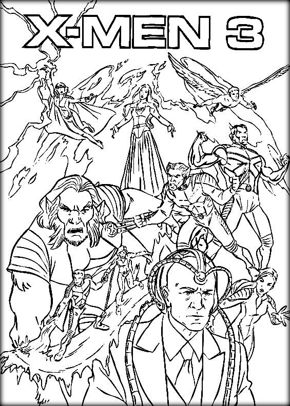 X Men Coloring Pages Coloring Books Mermaid Coloring Pages Super Coloring Pages
