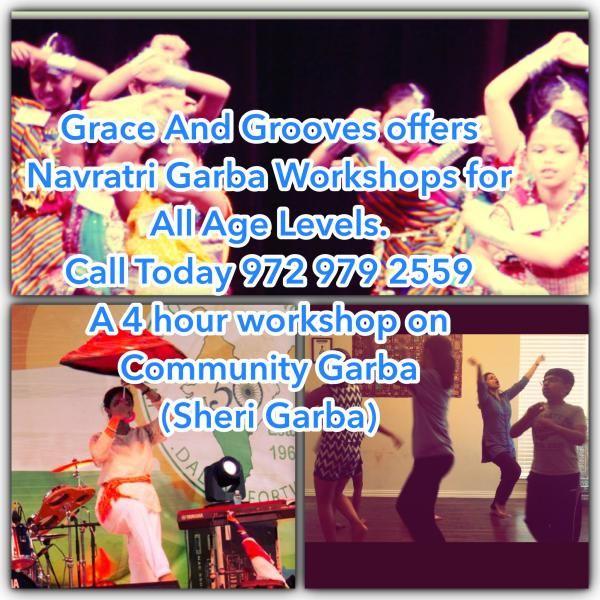 NAVRATRI GARBA-DANDIYA WORKSHOP Schedule Mon, 26 Sep 2016 - Tue, 25 Oct 2016    http://www.eknazar.com/Events/viewevent-id-113676/navratri-garba_dandiya-workshop.htm
