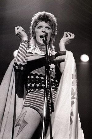 "David Bowie ""Starman"". ⚡"