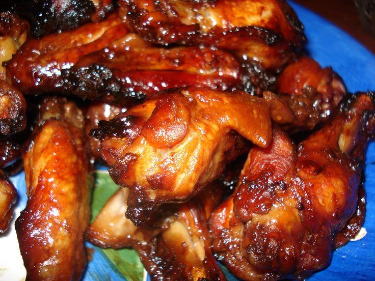 Mennonite Girls Can Cook: Honey Garlic Chicken Wings