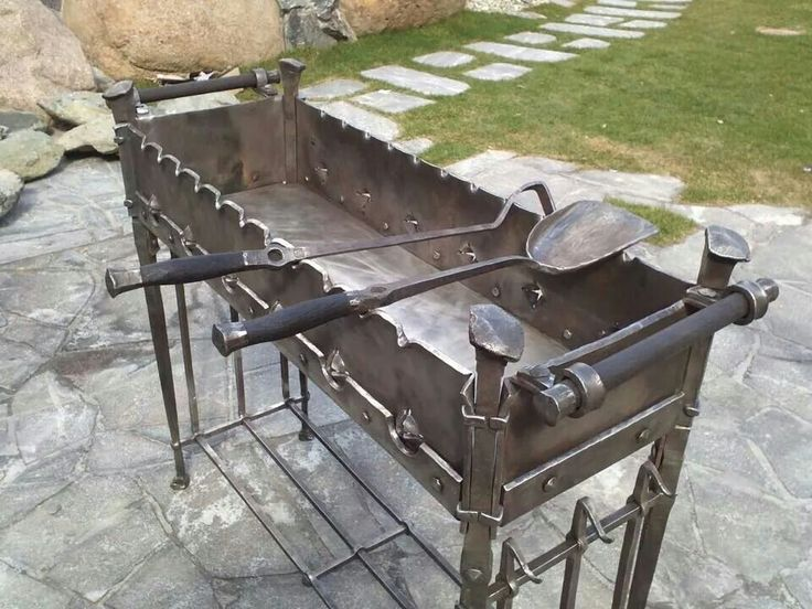Grill and brazer.