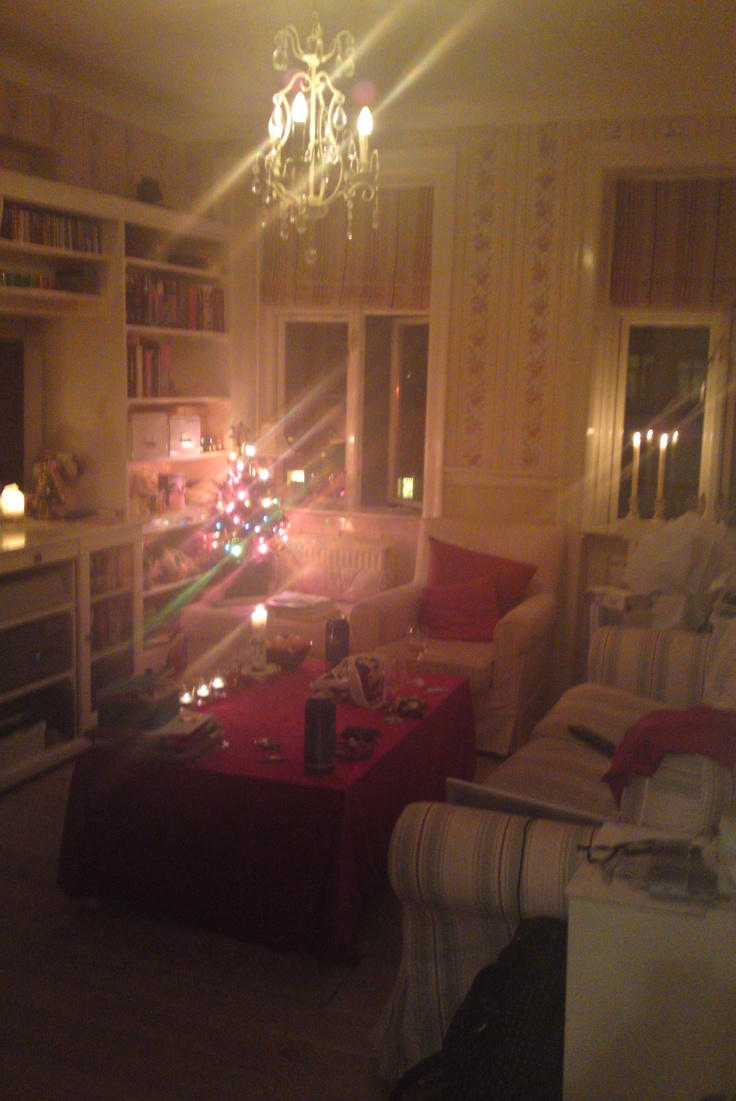 Our lovely home during christmas!