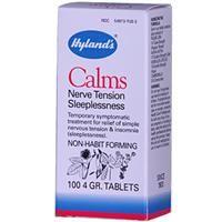 Hyland's, Calms, Nerve Tension Sleeplessness, 100 4 GR. Tablets - iHerb.com