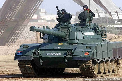 Al-Zarrar battle tank