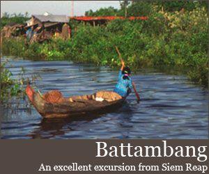 Battambang food and activities