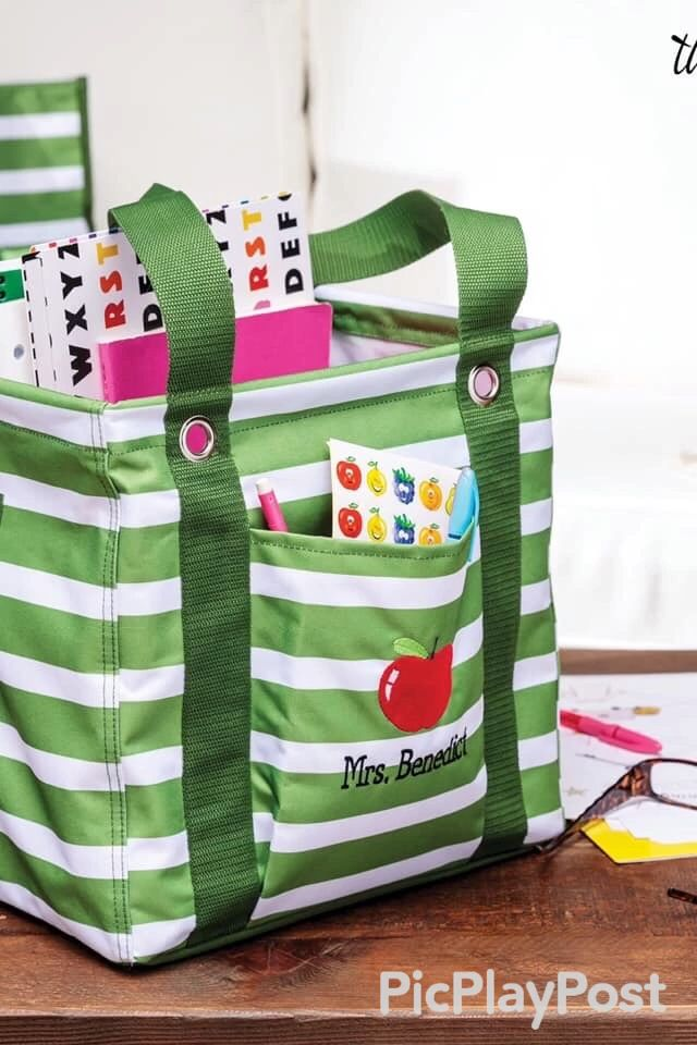 Would Love To Have This Utility Tote In Teal Mod