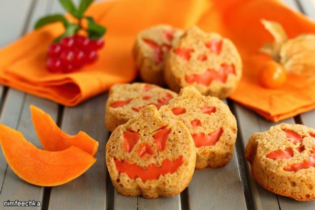 Тыквенное печенье (или кексы).
