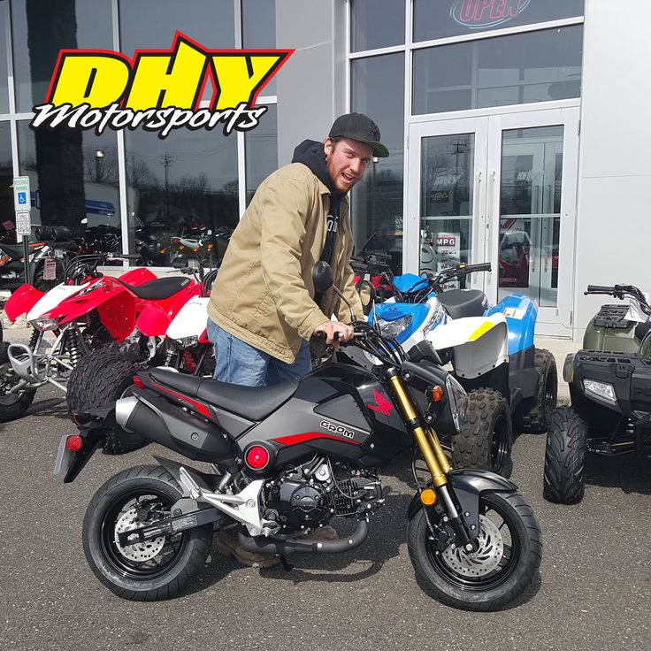 Congratulations to Matthew from #Westchester #PA on his purchase of this 2015 #Honda #Grom #125 Enjoy all the fun and smiles. Thank you for making your purchase at #DHYMotorsports #mynewride #dhynj