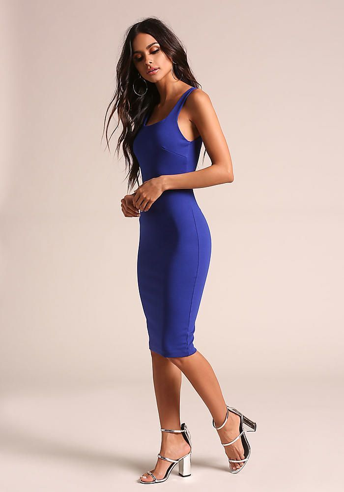 41 Trend Blue Bodycon Dress That you Can Try for Style Fashion This Year 15