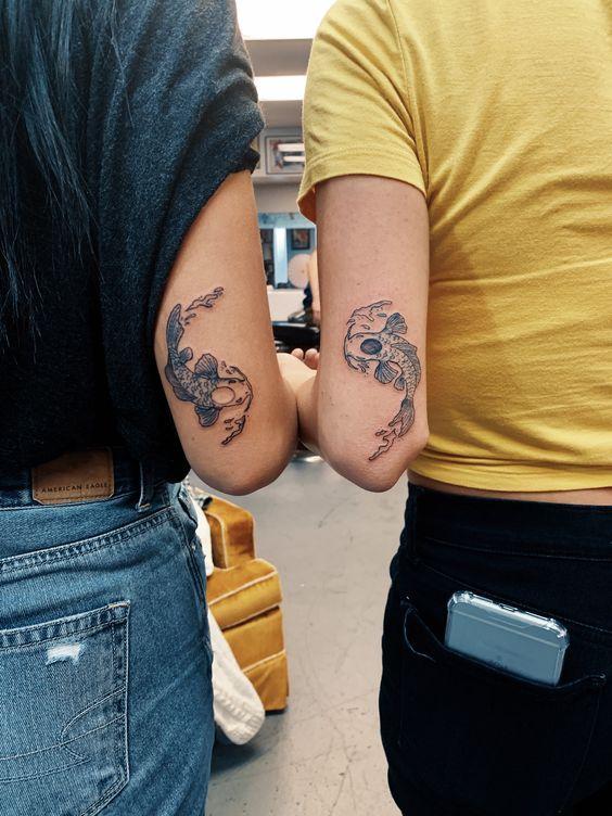 Beautiful Koi Fish Tattoos Designs for Girls