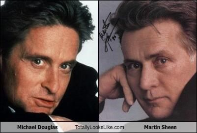 Martin Sheen looks like michael douglas