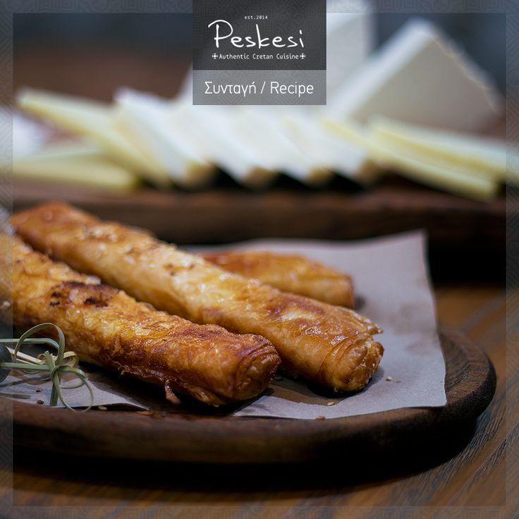 Τα τυροκομικά προϊόντα αποτελούν από τα βασικά συστατικά της κρητικής διατροφής, γεγονός που οι κάτοικοι των ορεινών περιοχών φαίνεται να γνωρίζουν αρκετά καλά, μιας και η τυροκομία αποτελεί την πολύ- αγαπημένη τέχνη τους! Στο #Peskesi σας προσφέρουμε τρία παραδοσιακά κρητικά τυριά σε ένα πιάτο: Μπουρεκάκια κρητικών τυριών, από κεφαλοτύρι, μυζήθρα και γραβιέρα!