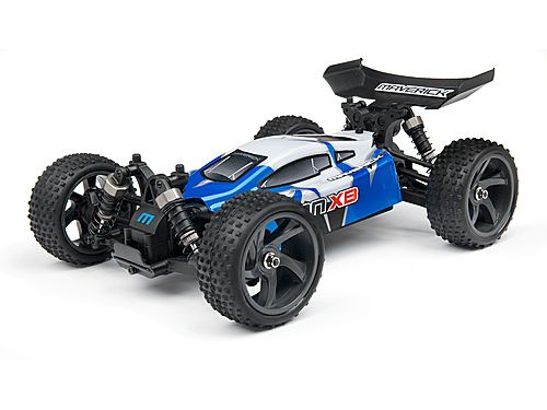Hvis du er på udkig efter en benhård, lille 4WD racing buggy, som har den perfekte størrelse til din have eller indkørsel, så er Ion XB den helt rigtige! Denne lille buggy er spækket med masser af funktioner, der sætter den i toppen for sin klasse.  Se mere på:  http://toytrade.dk/1-18/442-maverick-ion-xb-1-18-rtr-electric-buggy.html