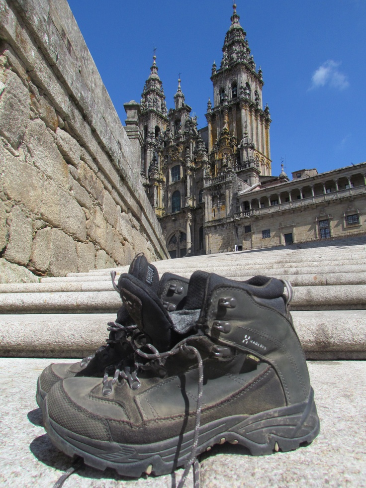 #CaminodeSantiago. These boots are made for #walking:-)