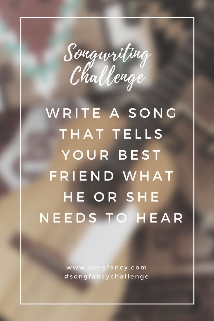 song writing prompts Use these 15 songwriting prompts to get warmed up and brainstorm new song ideas.