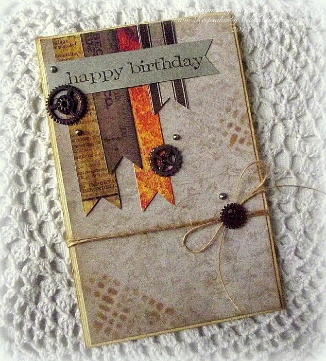 Perfect Masculine card by Melissa for the Simon Says Stamp Wednesday Challenge (It's a Guy Thing)