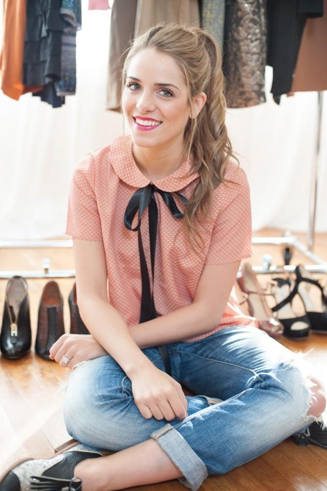 Julia Engel - Girl Meets Glam Interview  #springstyle