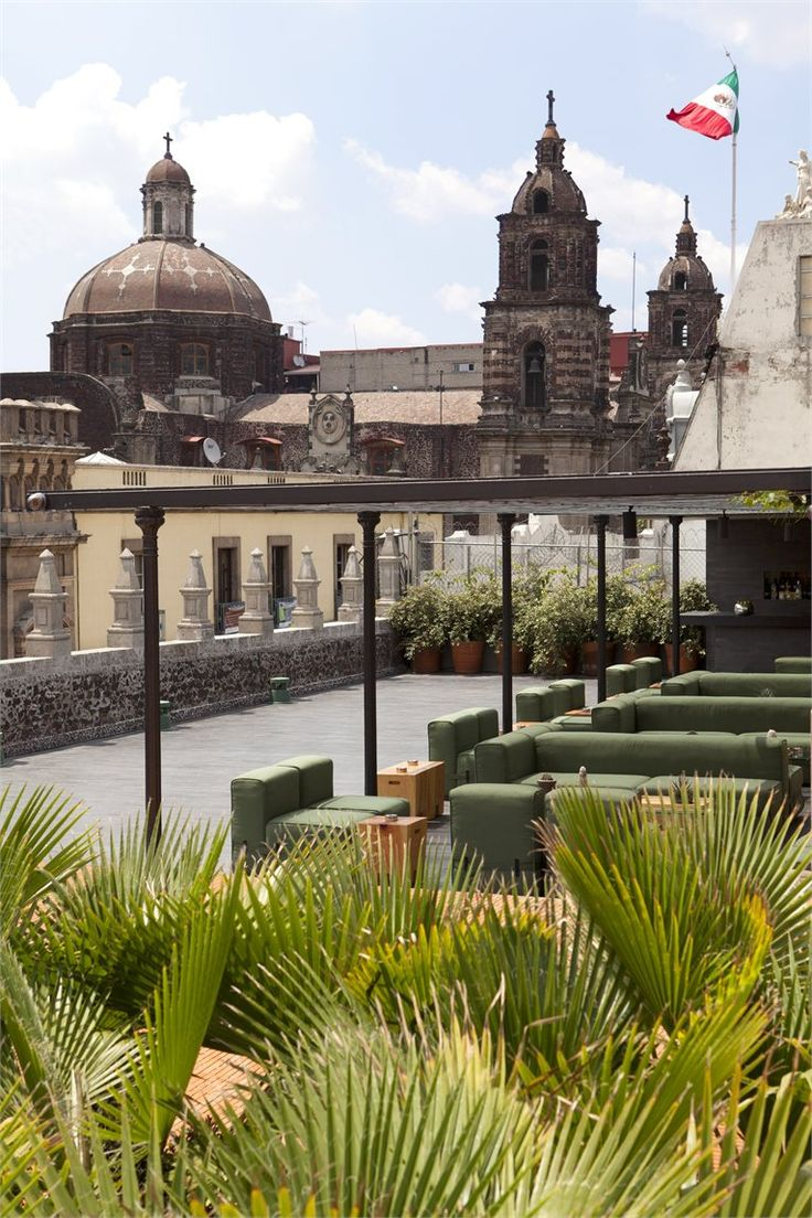 Rooftop Terrace, Mexico City