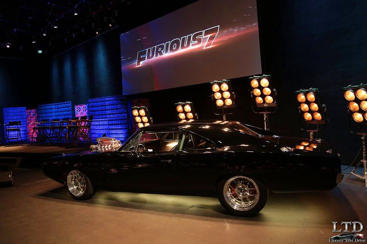 Fast And Furious 7 Dodge Charger Rt Frontal Toreto All